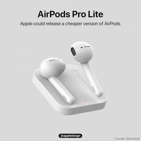 """AirPods Pro sắp có phiên bản giá rẻ mang tên """"AirPods Pro Lite"""" ?"""