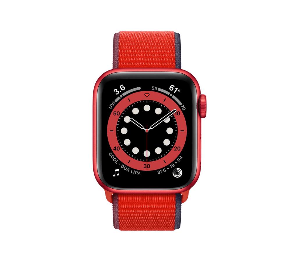 Apple Watch Series 6 Aluminum (Nhôm) Red 40 mm