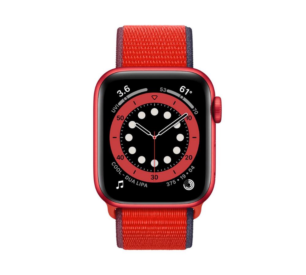 Apple Watch Series 6 Aluminum (Nhôm) Red 44 mm