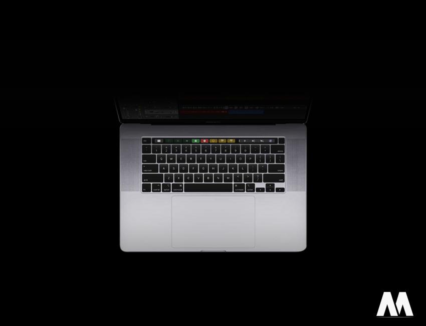 Bàn phím cơ chế cắt kéo mới nhất trên MacBook Pro 16-inch 2019