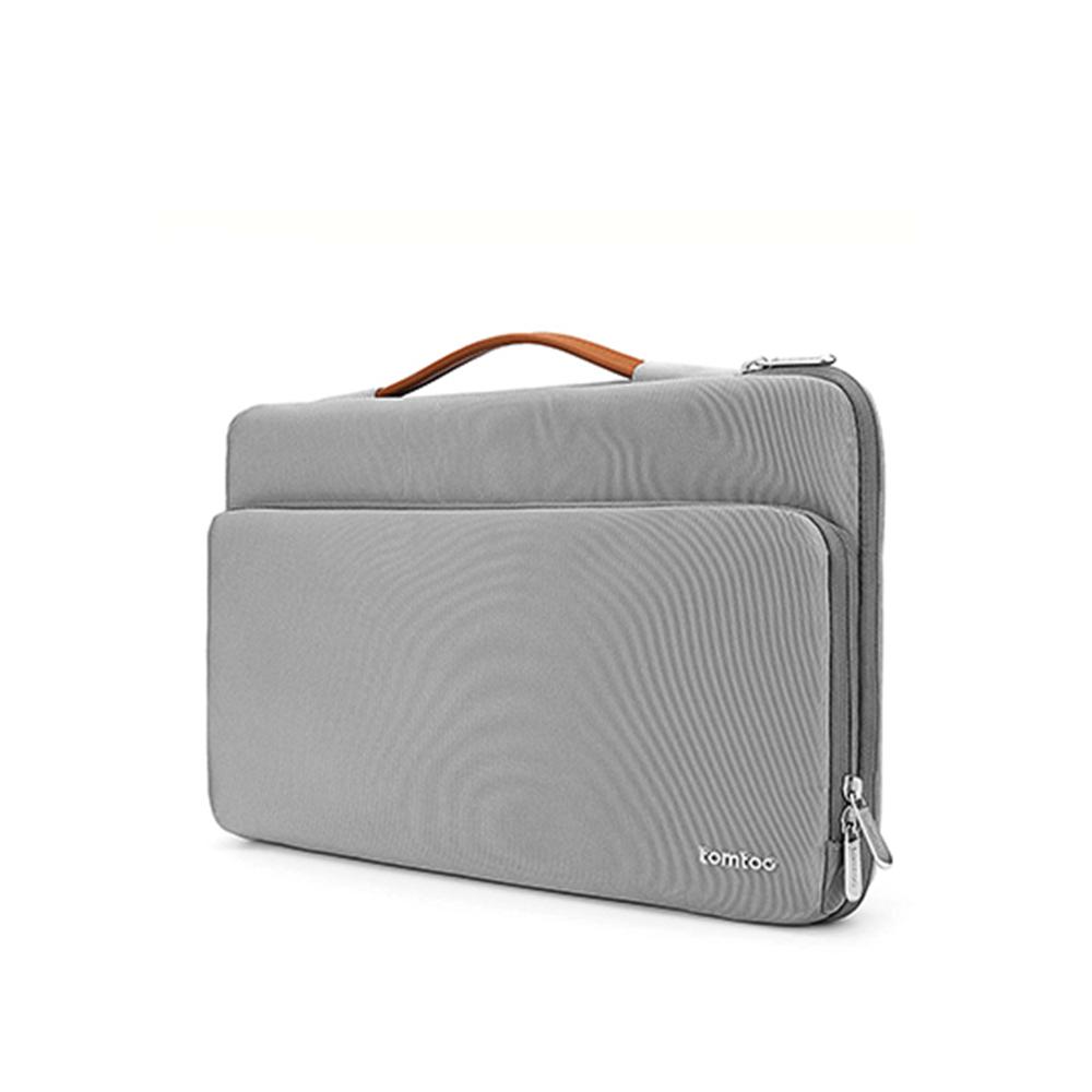 "Túi Xách Chống Sốc Tomtoc (USA) Briefcase MacBook 13"" New Gray"