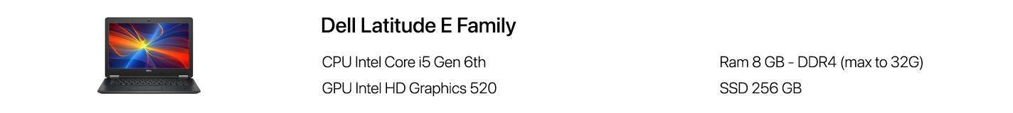 Latitude E-Family