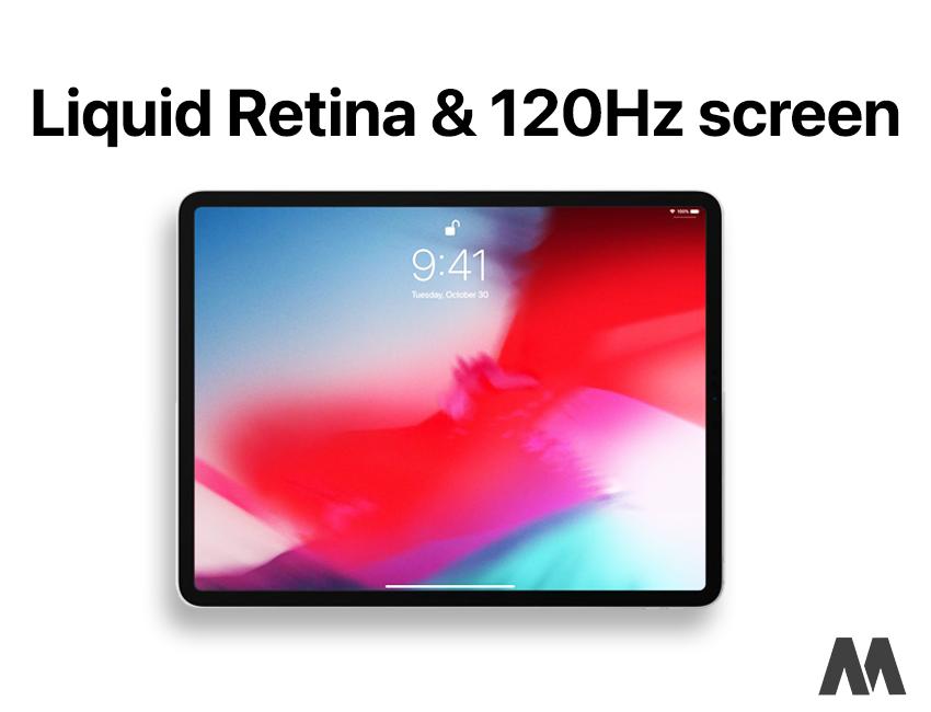 iPad 11 inch có màn hình cực sắc nét