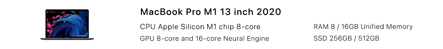 MacBook Pro M1 13-inch