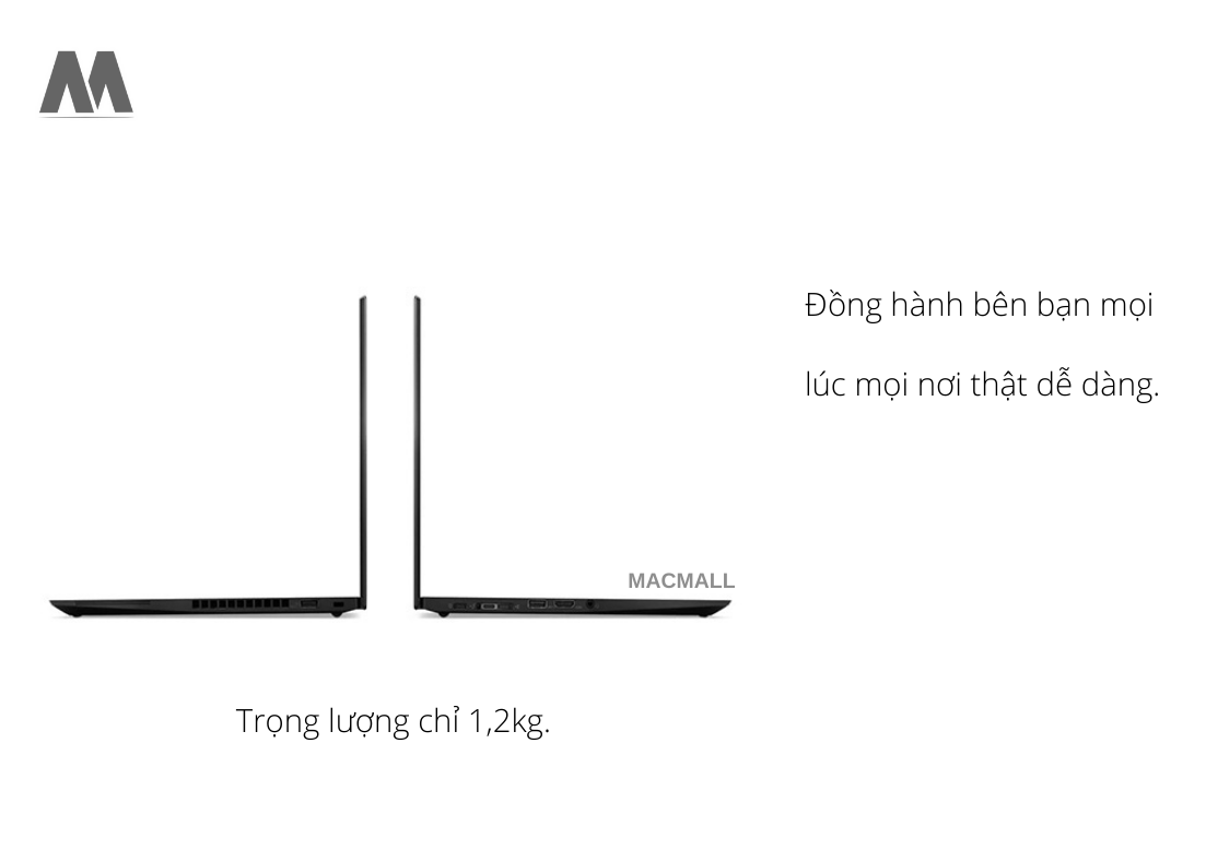 Thiết kế mỏng nhẹ mà vô cùng chắc chắn của Lenovo ThinkPad T14S