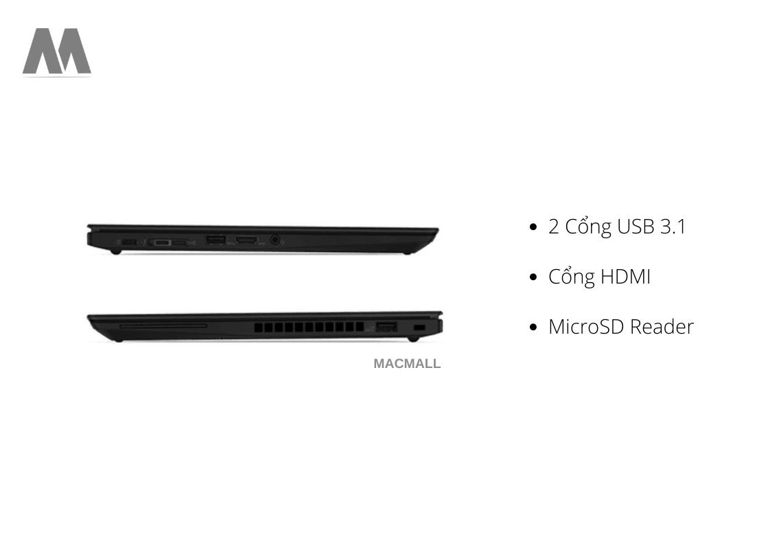 Lenovo ThinkPad T14S đa cổng kết nối