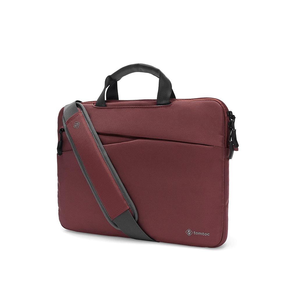 "Túi Xách Tomtoc (USA) Messenger Bags MacBook 13"" Dark Red"