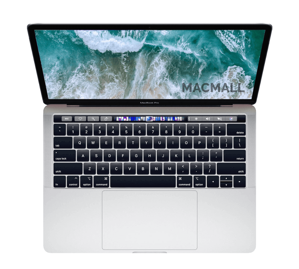 MacBook Pro 2018 13-inch MR9U2 Cũ 99% Touch Bar Silver Core i5 / Ram 8GB / SSD 256GB