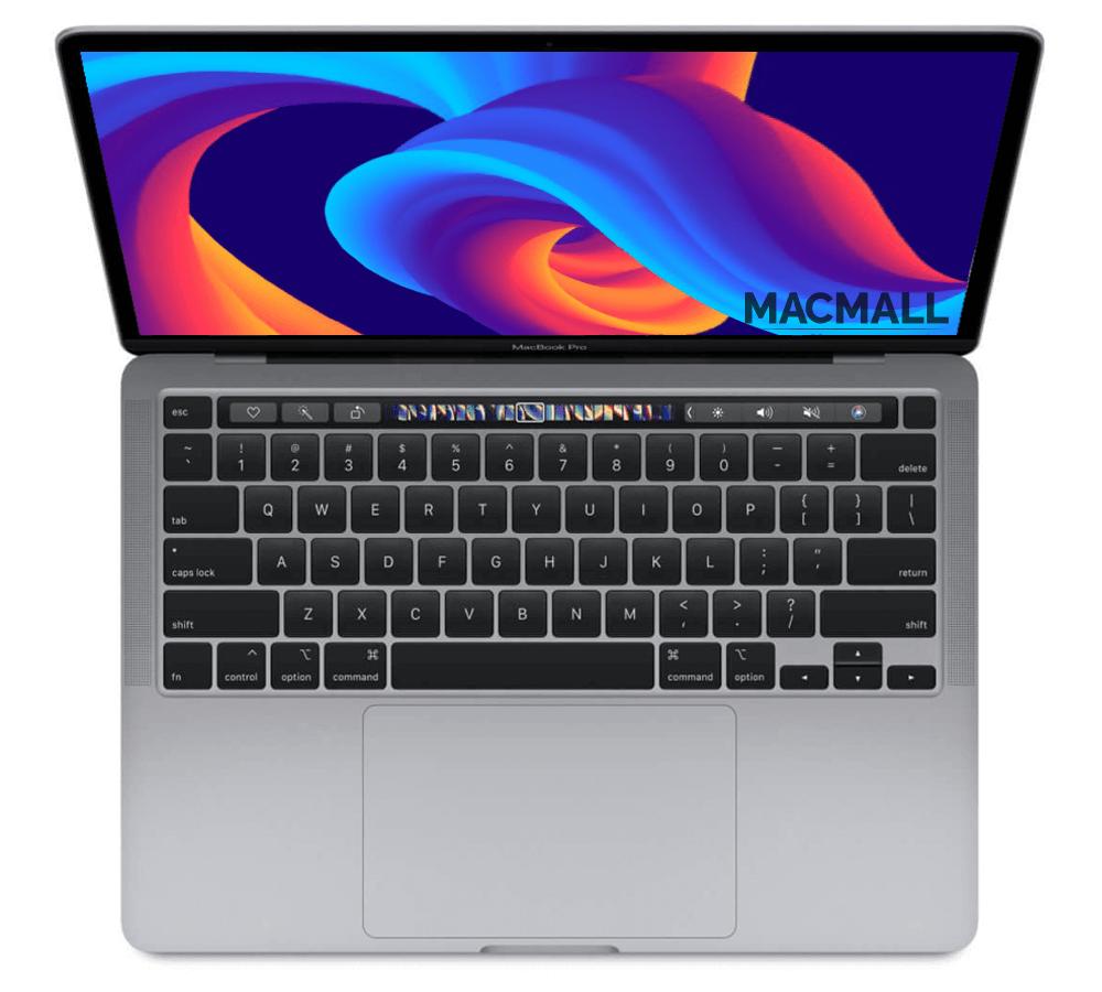 MacBook Pro M1 2020 13-inch Space Gray Option Ram 16GB / SSD 256GB / GPU 8-core