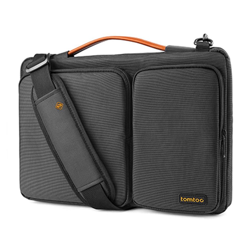 "Túi Đeo Tomtoc (USA) 360* Shoulder Bags MacBook 15"" Black"