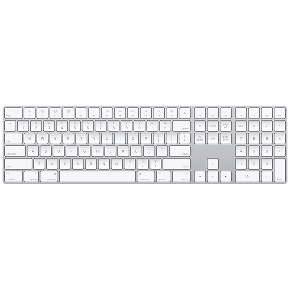 Magic Keyboard Silver with Numeric Keypad