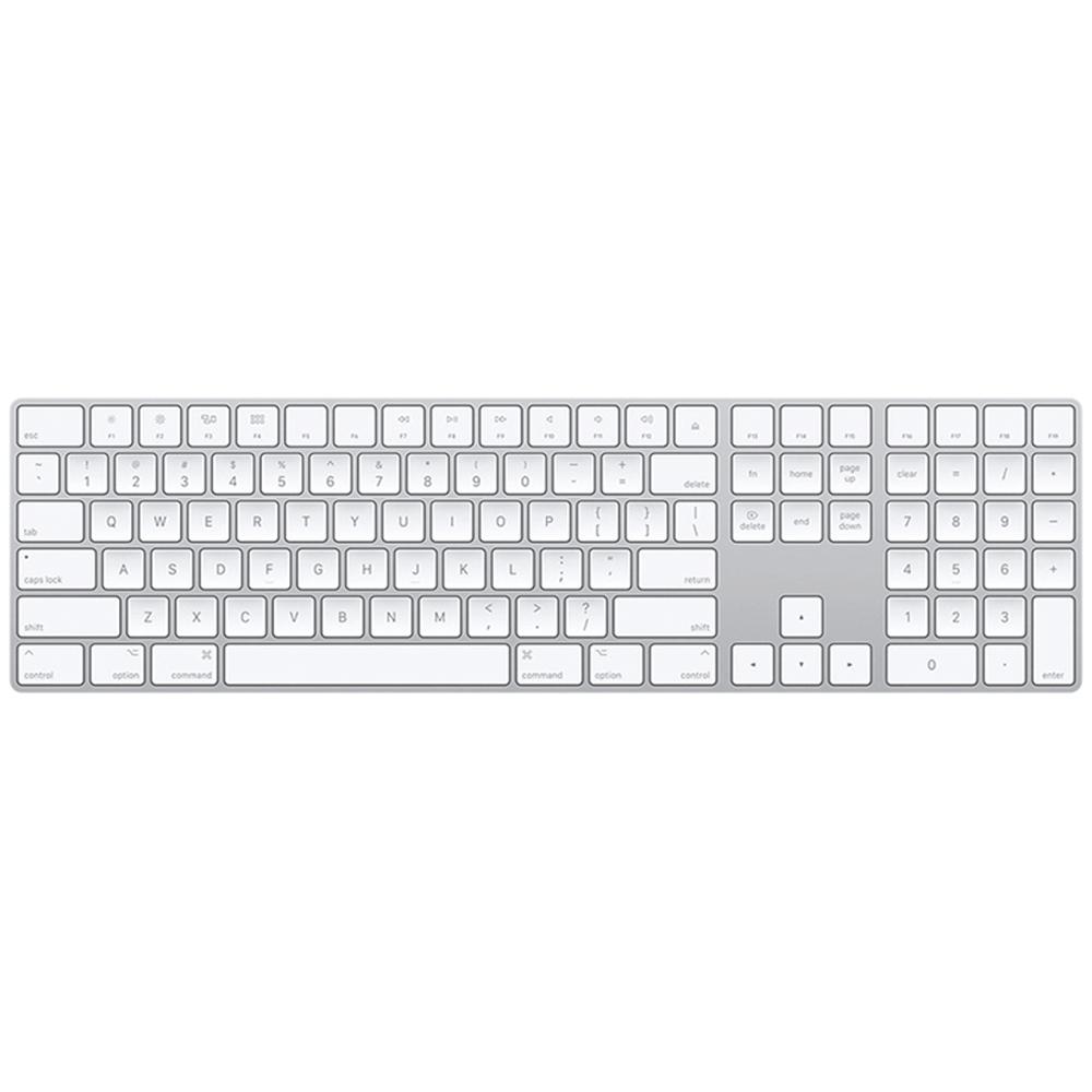 Magic Keyboard Silver with Numeric Keypad