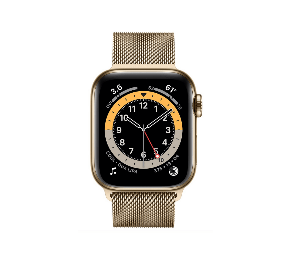 Apple Watch Series 6 Stainless Steel (Thép) Gold 40 mm LTE