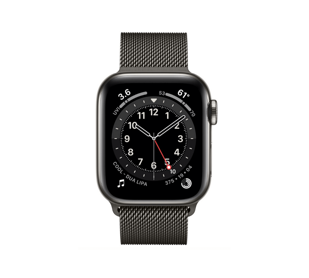 Apple Watch Series 6 Stainless Steel (Thép) Graphite 40 mm LTE