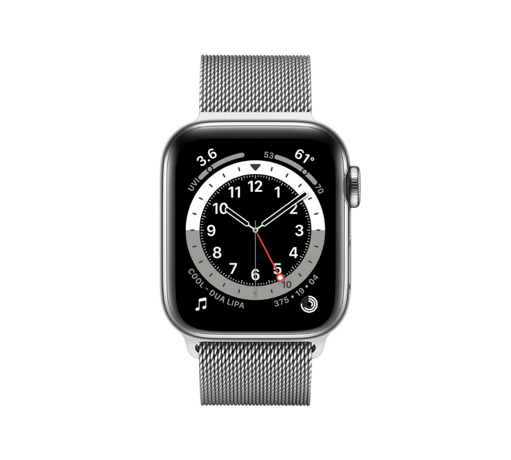 Apple Watch Series 6 Stainless Steel (Thép) Silver 40 mm LTE